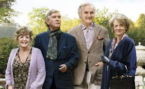 "Pauline Collins, Tom Courtenay, Billy Connolly and Maggie Smith in ""Quartet"""